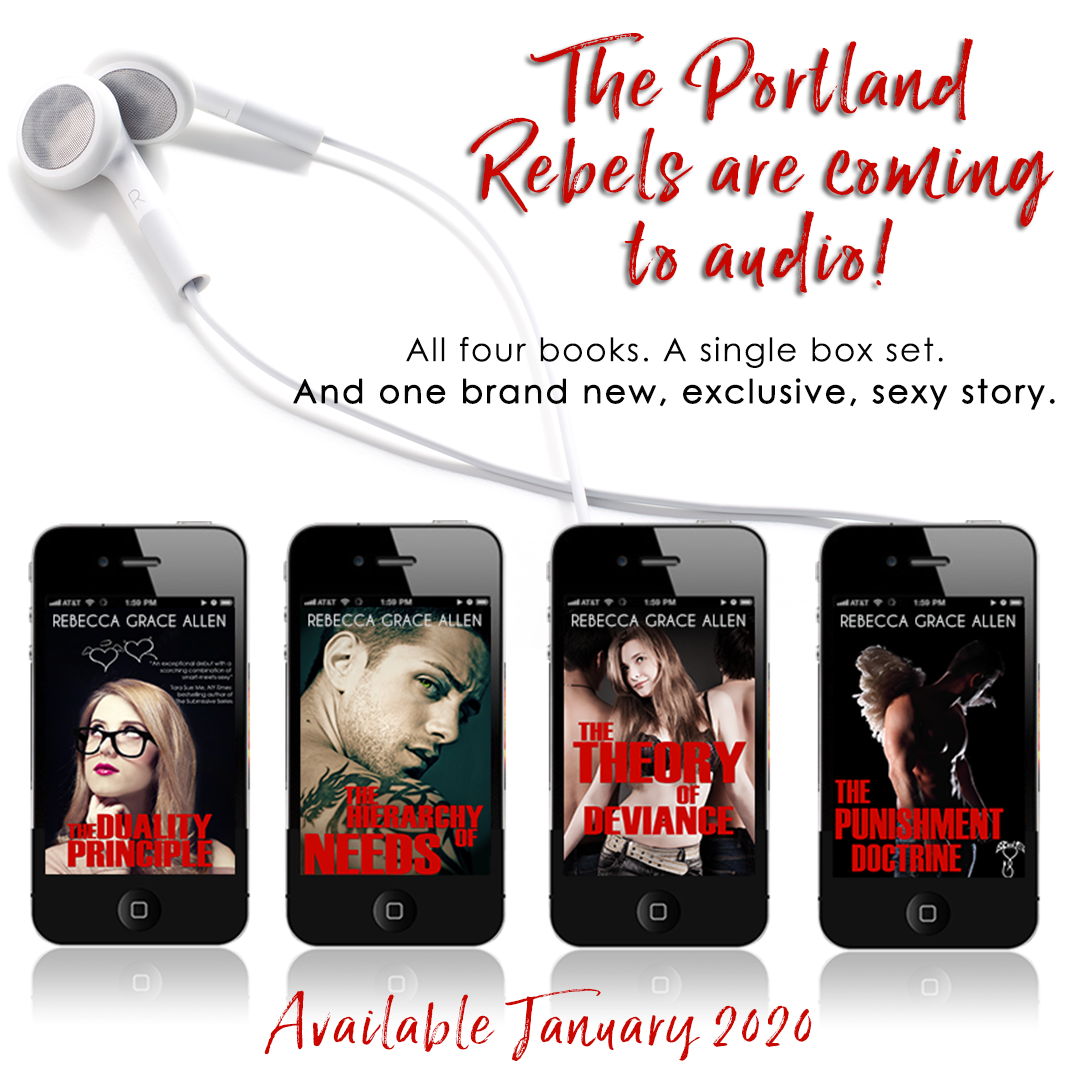 The Portland Rebels are coming to audio!